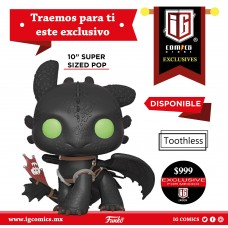 Toothless 10'' Exclusivo IG Comics