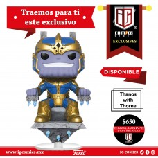 Thanos With Throne Exclusivo IG Comics