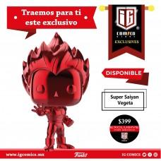 Super Saiyan Vegeta (Red Chrome) Exclusivo SDCC-2019