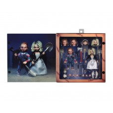 Bride of Chucky  7″ Scale Action Figure Ultimate Chucky & Tiffany 2-Pack Neca